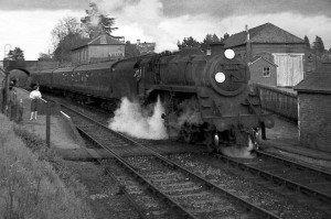 76055 at Fordingbridge Station