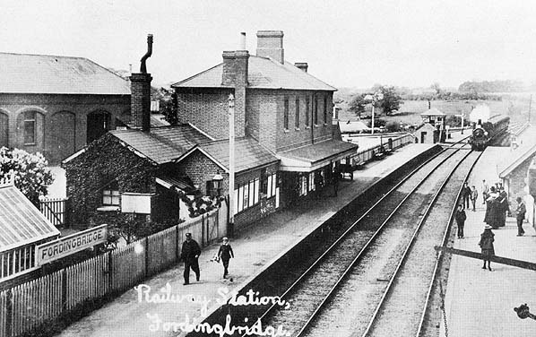 photo of fordingbridge station