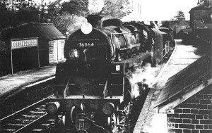 76064 at Fordingbridge in 1964